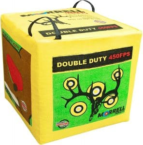 Morrell Double Duty 450 FPS 4 Sided Cube Field Point Archery Bag Target